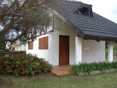 Cabaña Una Del Mar Por Día Us$55.barbacoa,árboles,cable Wifi