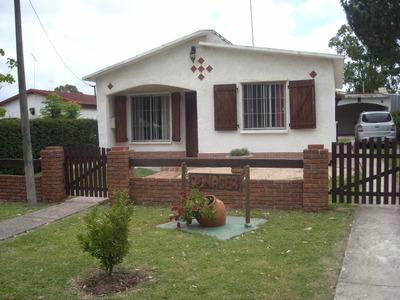 Casa En Playa Grande (piriapolis) P/6 Personas, Barbacoa,gge