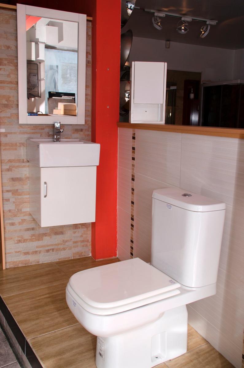 Muebles Para Baño Uy:Mueble De Baño Con Mesada De Losa Y Botiquín – U$S 378,50 en Mercado