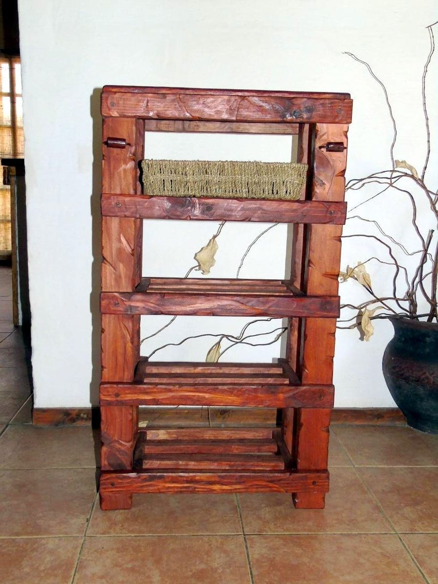 Muebles de cocina de madera y hierro - Muebles de hierro ...