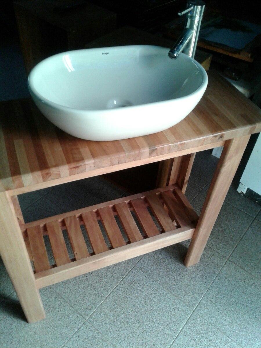 Baños Rusticos El Mueble:Mueble Rustico Para Bacha De Baño – $ 4500,00 en Mercado Libre